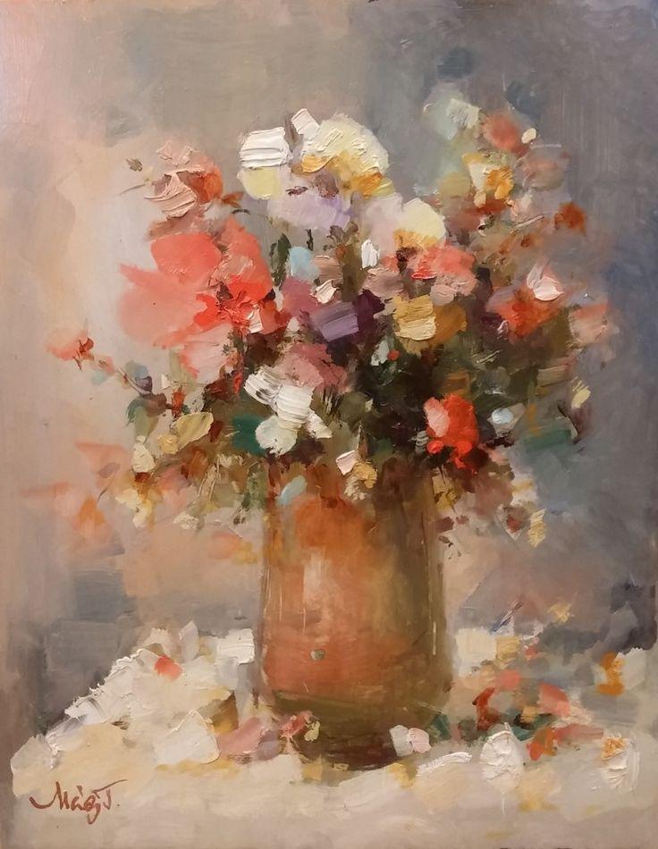 Mág Tamás: Virágok - Vándorfény Galéria