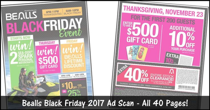 ****BEALLS BLACK FRIDAY 2017 AD SCAN ~ 40 PAGES OF DEALS*** We have just posted all 40 of the leaked BEALLS Black Friday 2017 Ad! Click the Picture below to BROWSE all 40 Pages of the Black Friday Ad ► http://www.thecouponingcouple.com/bealls-black-friday-ad/  Visit us at http://www.thecouponingcouple.com for more great posts!
