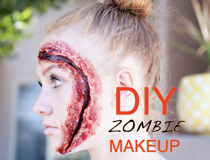 DIY Zombie Makeup Tutorial | All Things Thrifty