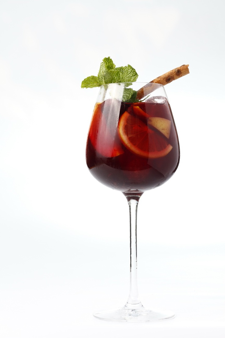 One of our signature cocktail for this summer special menu, Gracia Sangria!