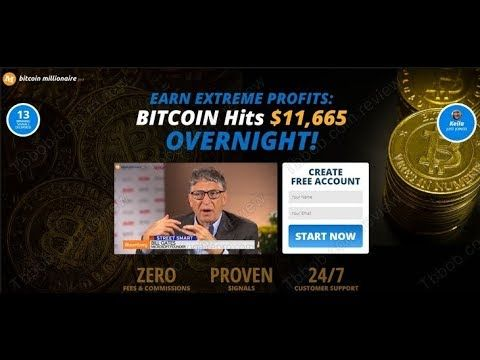 Earn Extreme Profits Bitcoin Millionaire Pro-Review Bitcoin Hits $11665 Overnigh…