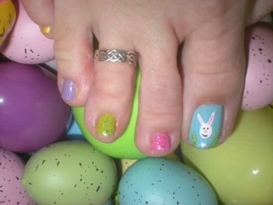 34 best easter toe nail art designs images on pinterest make up have a look at the collection of 12 easter toe nail art designs ideas of stay hooked for more updates are yet to come till the arrival of easter prinsesfo Image collections