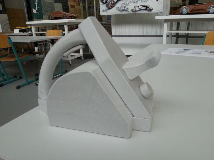 T-800 - elektrický hoblík (3D model z polystyrénu)