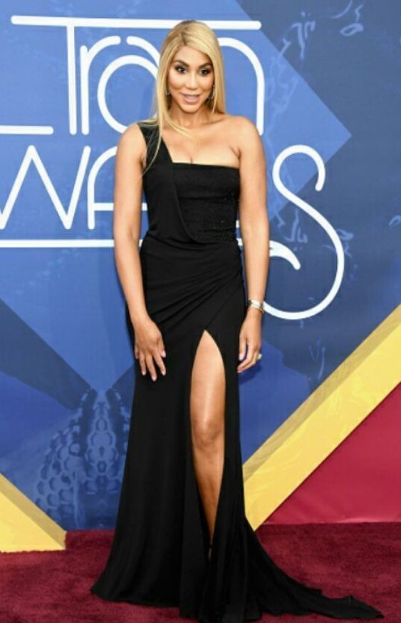 Tamar Braxton hosts the 2016 Soul Train Awards