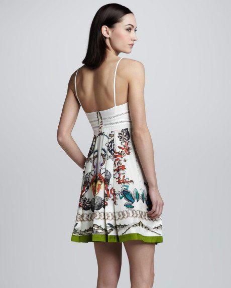 ROBERTO CAVALLI fabric 100% Silk Chiffon for dress or skirt, made in Italy