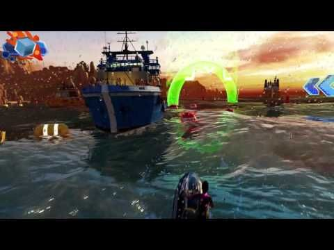 Kinect Sport Rivals - Présentation du scooter des mers!