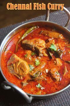 YUMMY TUMMY: Madras Fish Curry Recipe - Chennai Fish Curry Recipe