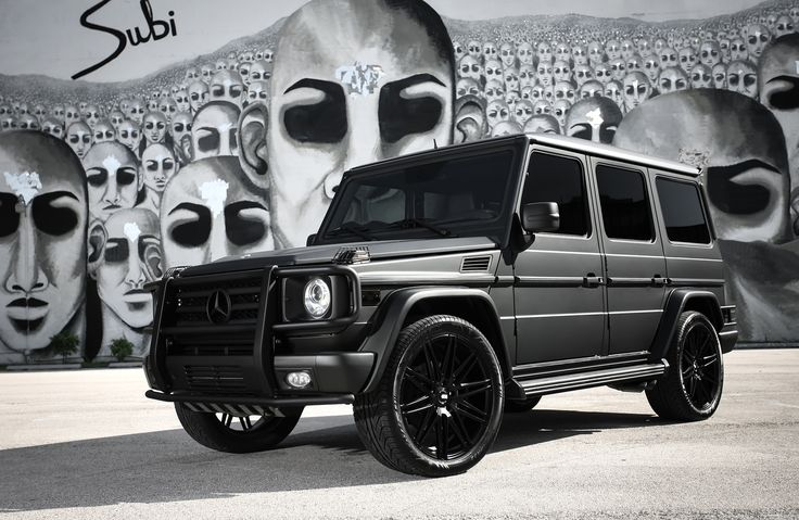 Mercedes matte black g wagon google search the whip for Matte black mercedes benz