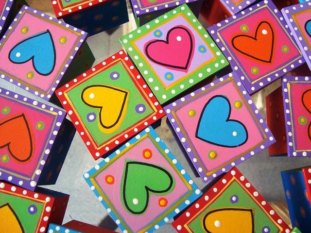 Cajitas Corazón by rebeca maltos, via Flickr