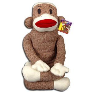 2011 BIG Size Huge 4ft Maxx the Sock Monkey   Price: $62.90 (got mine at Kmart for $29.99)