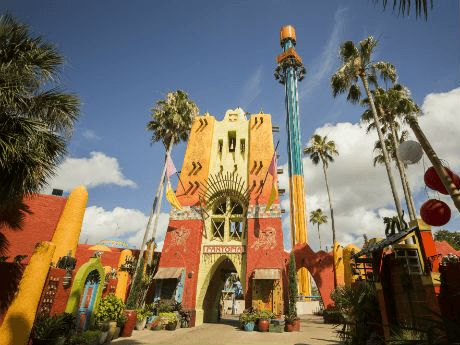 Falcon's Fury® is the tallest freestanding drop tower in North America, standing at 335 feet. Falcon's Fury | Busch Gardens Tampa