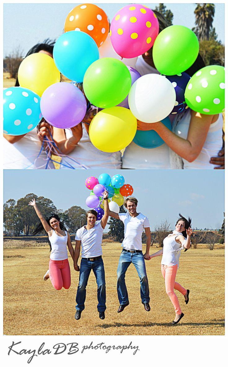Balloon friendship photo shoot!