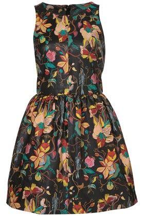 Кожа Окрашенные Платье