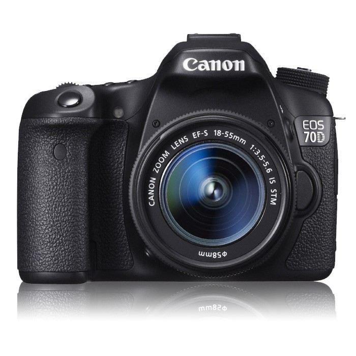 Canon EOS 70D Kit (EF-S18-55 IS STM) DSLR Price: Buy Canon EOS 70D Kit (EF-S18-55 IS STM) DSLR Online in India - Infibeam.com