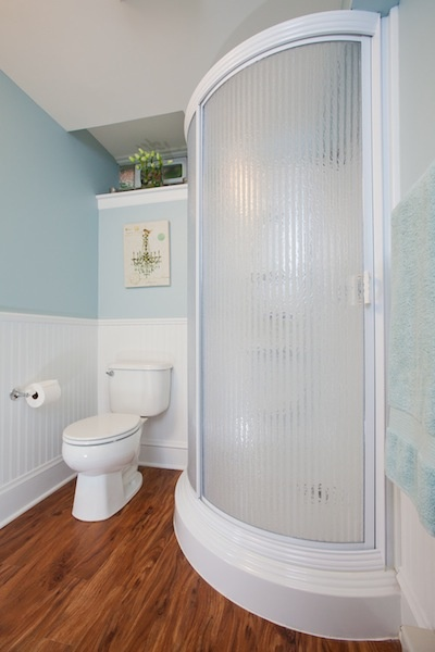 Traditional Bathroom Designed By Castle Building And
