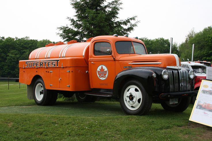 1947 ford two ton fuel tanker truck big heavy duty trucks pinterest trucks and ford. Black Bedroom Furniture Sets. Home Design Ideas