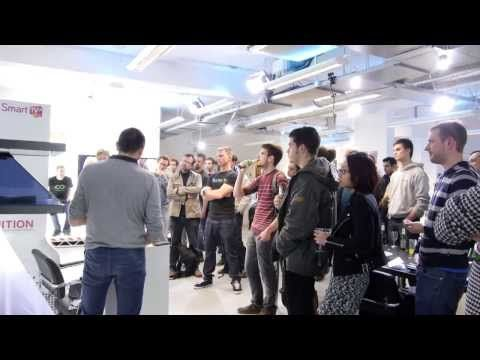 InfinitEye VR HMD and Dr William Steptoe's AR on the Rift - Inition virtual reality meetup wrap - YouTube