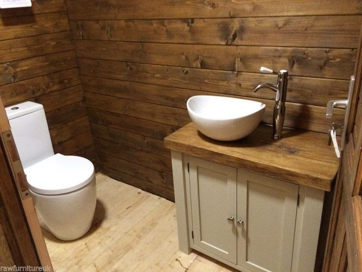 Photo Album Website CHUNKY RUSTIC PAINTED BATHROOM SINK VANITY UNIT WOOD SHABBY CHIC Farrow uBall