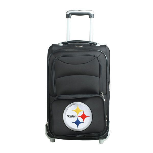 "Pittsburgh Steelers 21"" Rolling Carry-On Suitcase - $124.99"