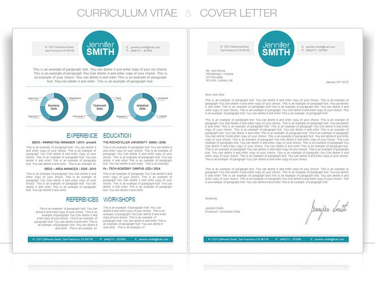 cv cvtemplate coverletter cv word template - Word Templates Resume