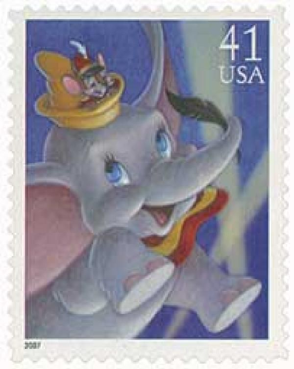 On October 23, 1941, Walt Disney released Dumbo, which was based on the children's book by Helen Aberson-Mayer.