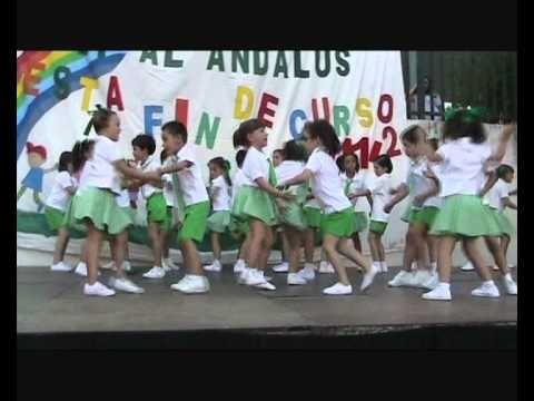 Fiesta Fin de Curso 2011-2012 CEIP Al-Ándalus CÓRDOBA: Infantil 5 años A, B Y C. - YouTube