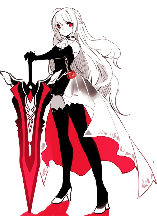 Anime Characters Jobs : Best ideas about elsword game on pinterest