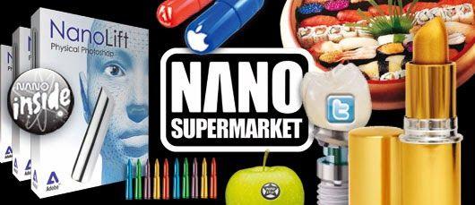 Nano supermarket - onde só existem #produtos do #futuro. #nano #tecnologia #future #trends