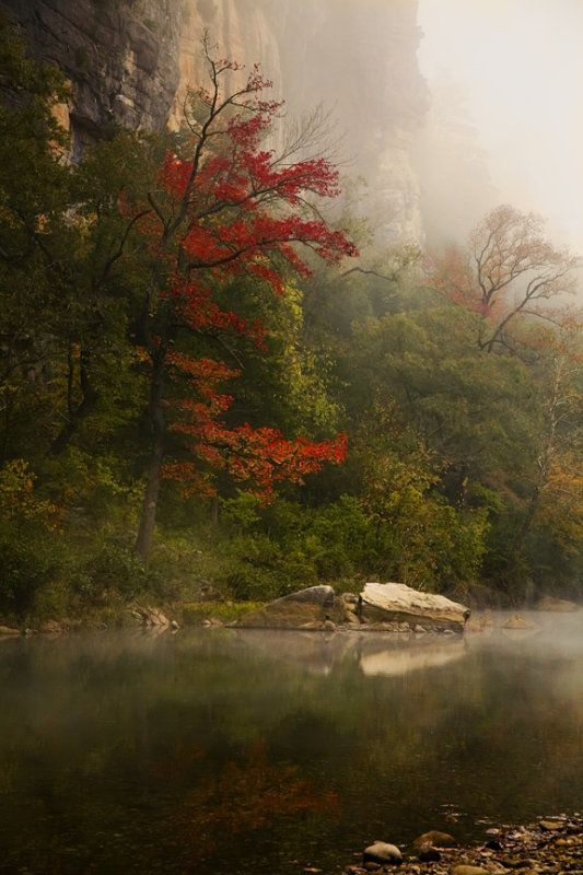 Fall on the Buffalo National River