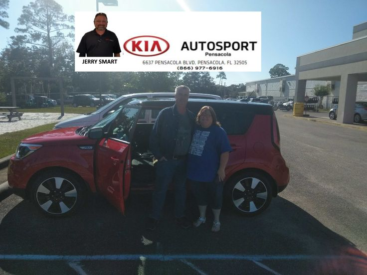 "Congratulations to the Bethea Family on the purchase of their BRAND NEW 2017 KIA Soul from Jerry Smart and KIA AutoSport of Pensacola. We appreciate you trusting us to be your GO TO Dealer for your next car purchase!! We appreciate you and look forward to serving you for years to come!! Welcome to the family!! ""WE WANNA SEE YA IN A KIA"" #KIAFAMILY"