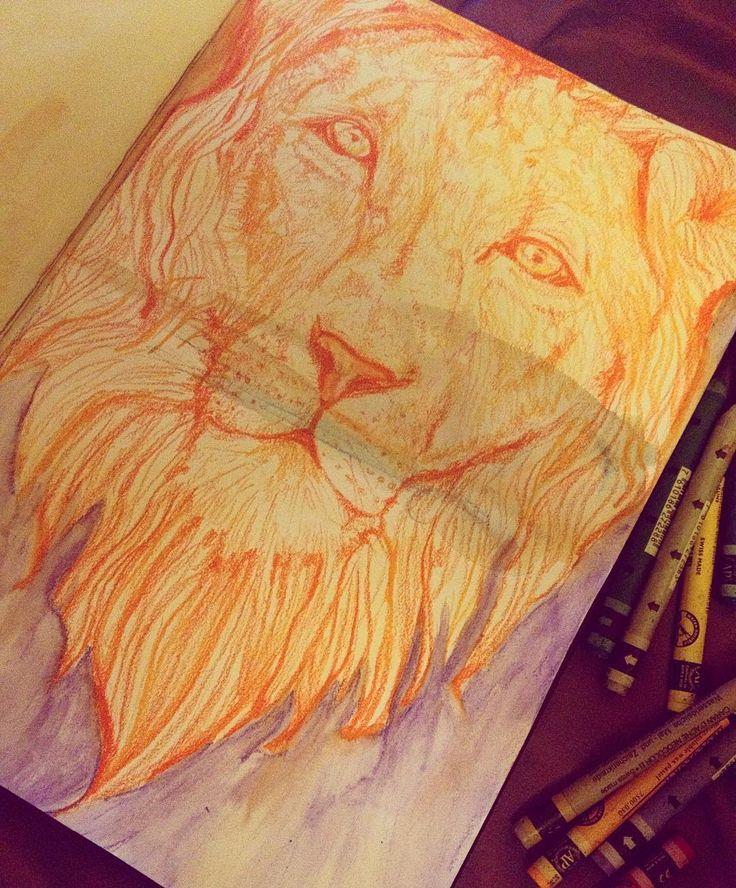 Thinking about cats. #quemas #cats #lionsmane #lion #animallover #art #artist #drawing #sketch #painting #visualdiary #artstudent #artschool #scribbles #artschool #spiritjunkie #goodvibes #bohemian #boho #gypsy #oilpastel #artoftheday #like4like #follow #watercolor #realism