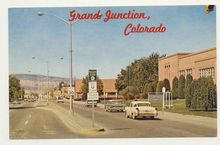 Old postcard - MESA COLLEGE, GRAND JUNCTION, COLORADO: Mesa Colleges ...