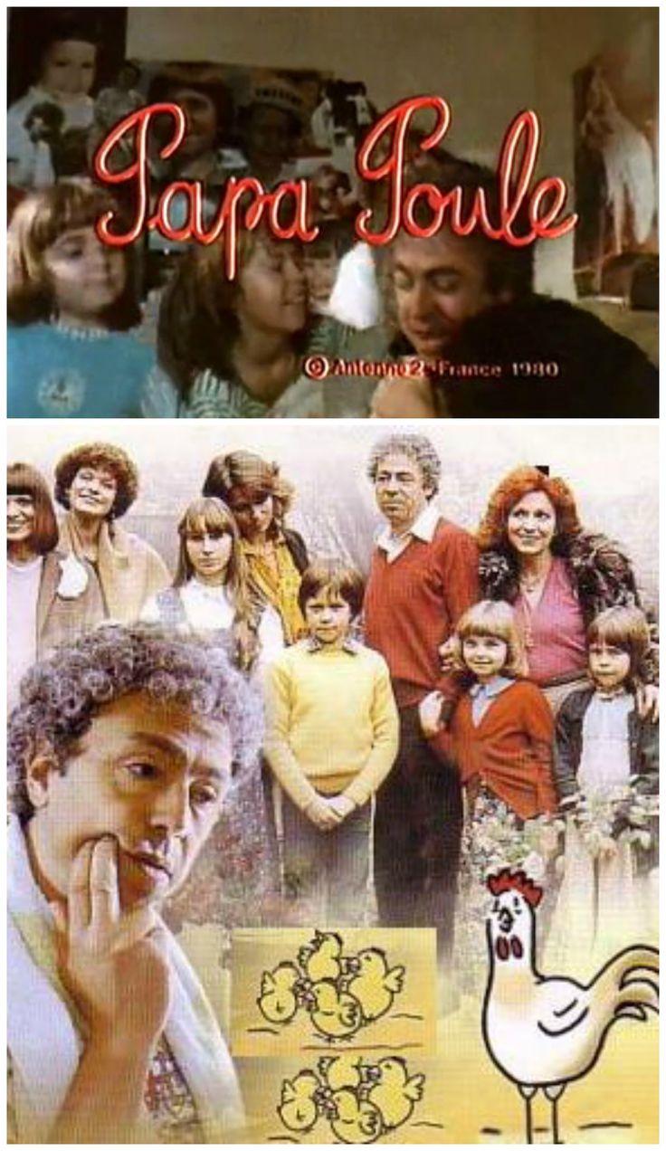 Papa Poule - J adorais! J ai encore la chanson du générique en tête.. Cette famille atypique -le papa était veuf- et les histoires de fratrie, c était la vie, en somme!
