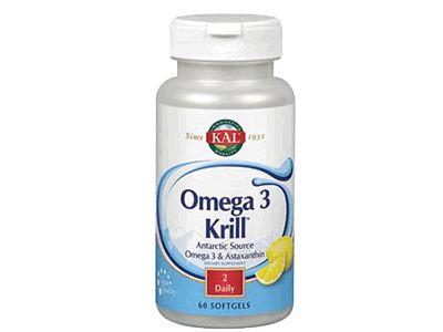 Omega-3 Krill de Kal y los beneficios para nuestra salud:Ayuda a mejorar la salud cardiovascular.Ayuda a controlar el colesterol. Ayuda a regular los niveles de azúcar en sangre. Omega-3 Krill Kal ayuda a mejora el sistema nervioso.Ayuda a mejorar la memoria, la concentración y aprendizaje.Omega-3 Krill Kal ayuda a mejorar problemas de depresión. Ayuda a fortalecer el sistema inmune.