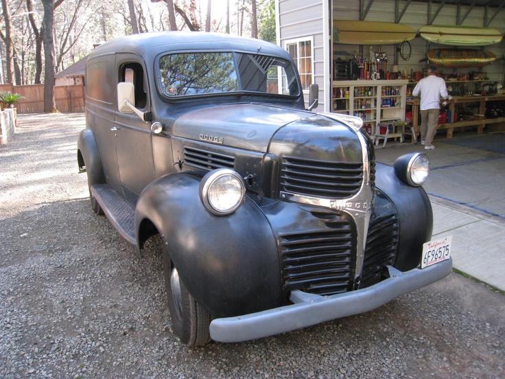62 best The '46 Dodge Panel Truck Restoration Board images on ...