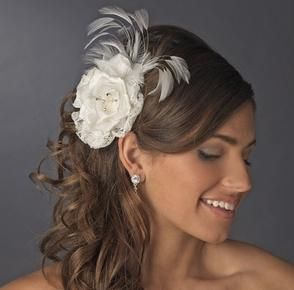How To Wear A Fascinator Medium Length Hairstyleswedding