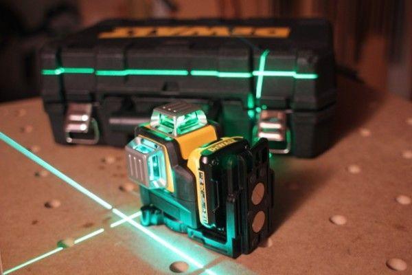 Dewalt Dw089lg 12 Volt 3 X 360 Green Line Laser Dewalt Laser Levels Dewalt Tools