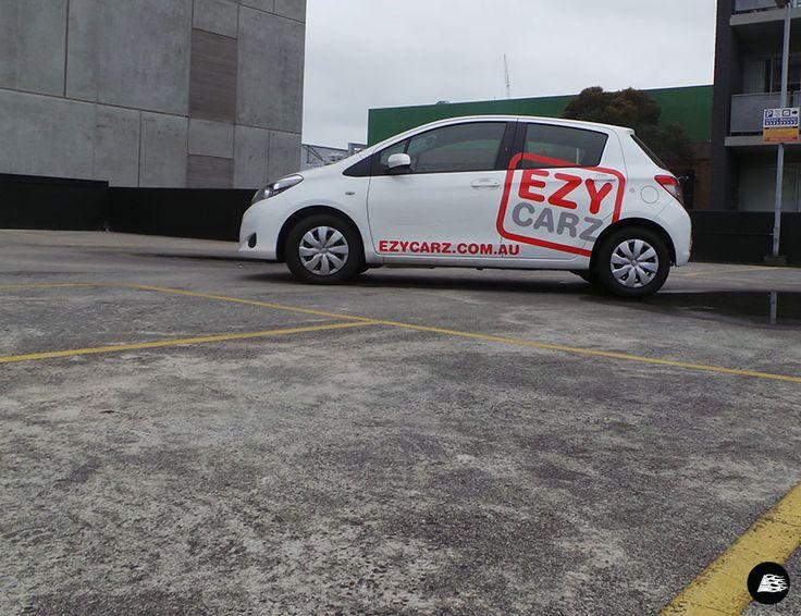 Toyota Yaris #vehicledecals #ezycarz