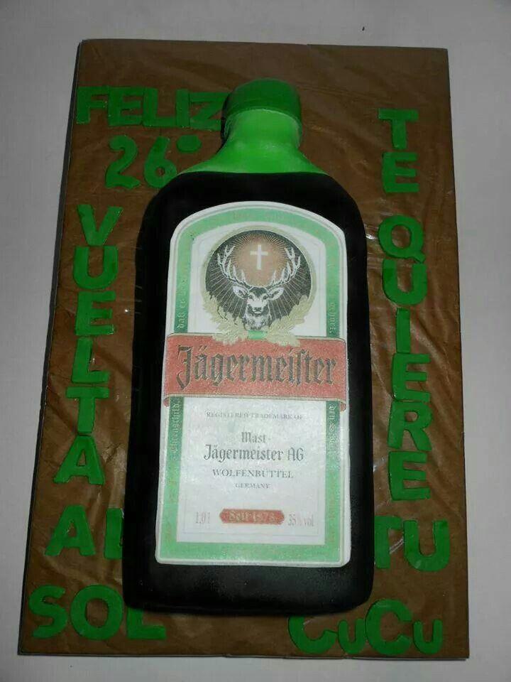 Torta Jagermeister 100% Comestible.