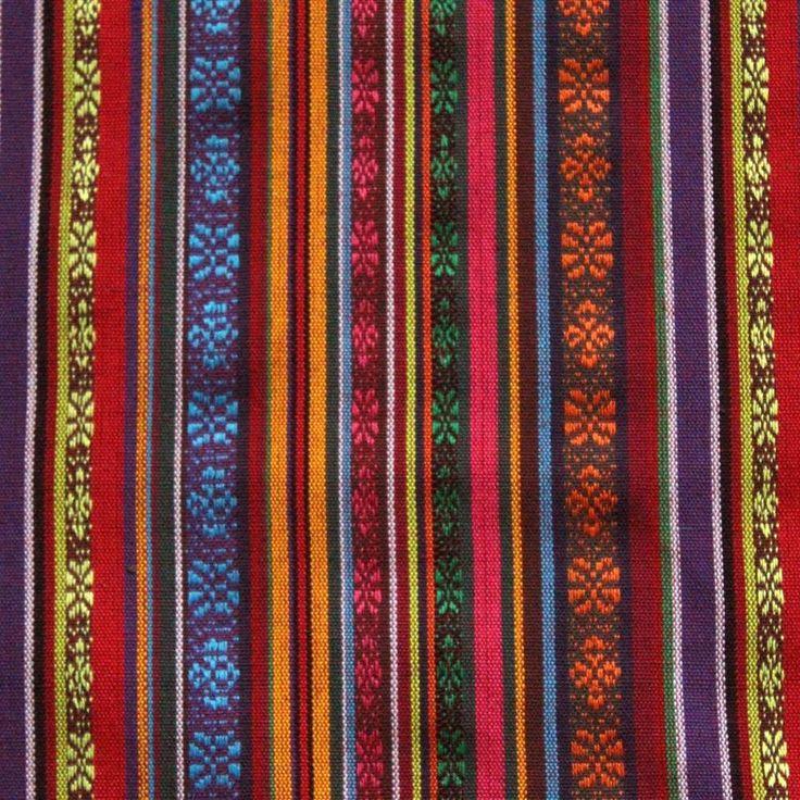 Mexicaanse stof 14, Breedte 150 cm breed, Samenstelling: 100% Polyester. Zeer geschikt voor o.a. poncho, bedsprei, tafelkleed, carnaval kleding, interieur, kuss