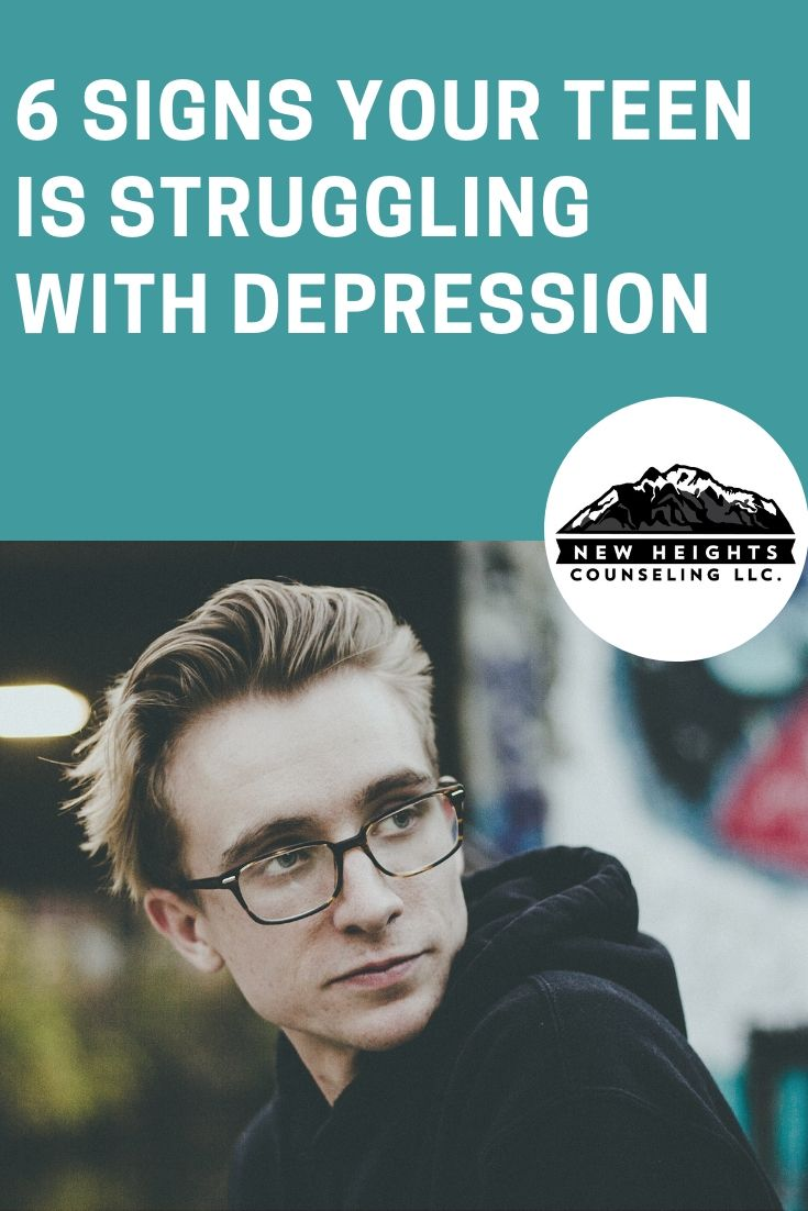 6 signs your teen may be depressed | depression help | pinterest