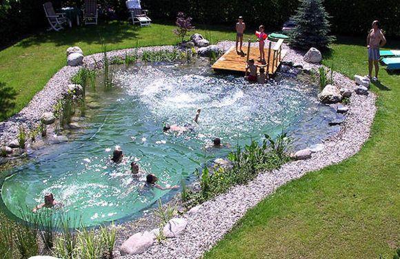 Swimming natural pool