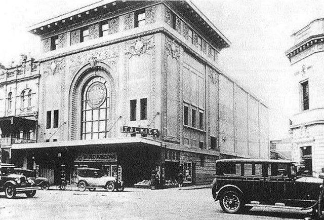 Regent Theatre in Geelong,Victoria (year unknown).