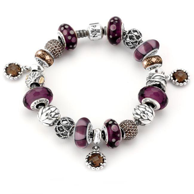 Pandora Autumn Leaves Bracelet