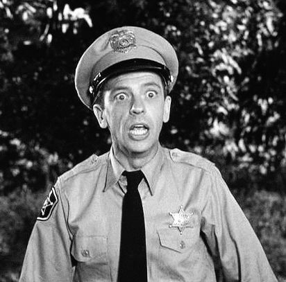 Barney Fife, Mayberry Deputy   played by Don Knotts - he was a riot
