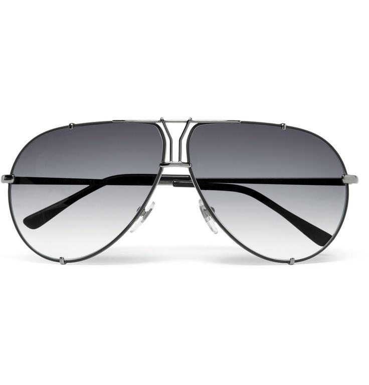 Yves Saint Laurent 'Y' Logo Aviator Sunglasses   MR PORTER