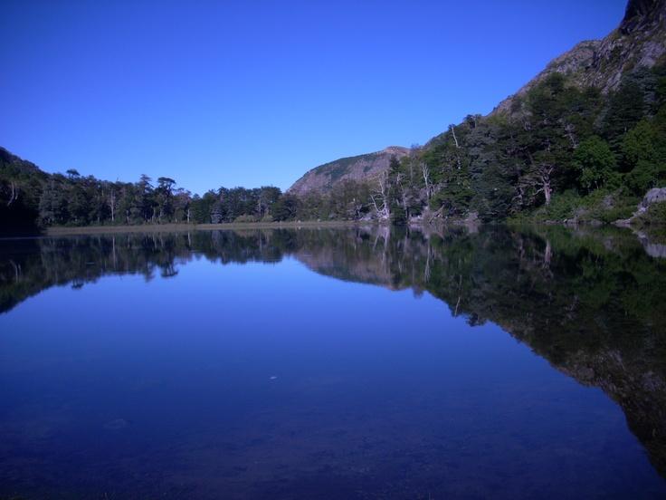 Laguna de la plata, San Fabian de Alico, VIII Región, Chile.