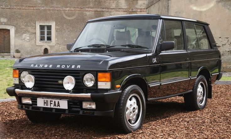Range Rover — The model, launched in 1970, is now in its fourth generation. Range Rover is also being developed by Land Rover as its premium brand, and it is used as a brand name on two other models – the Range Rover Evoque and the Range Rover Sport.