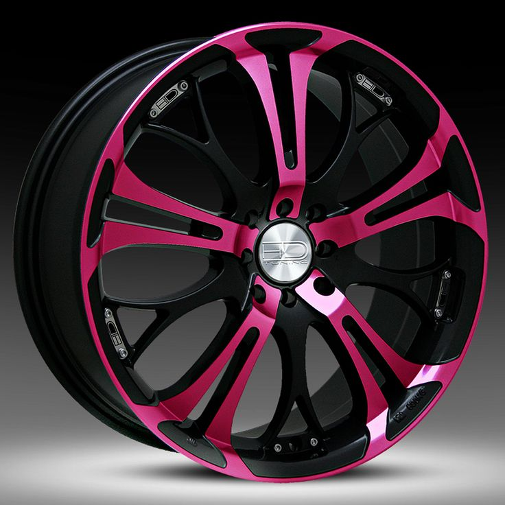 pink rims | Black And Pink Rims Pictures