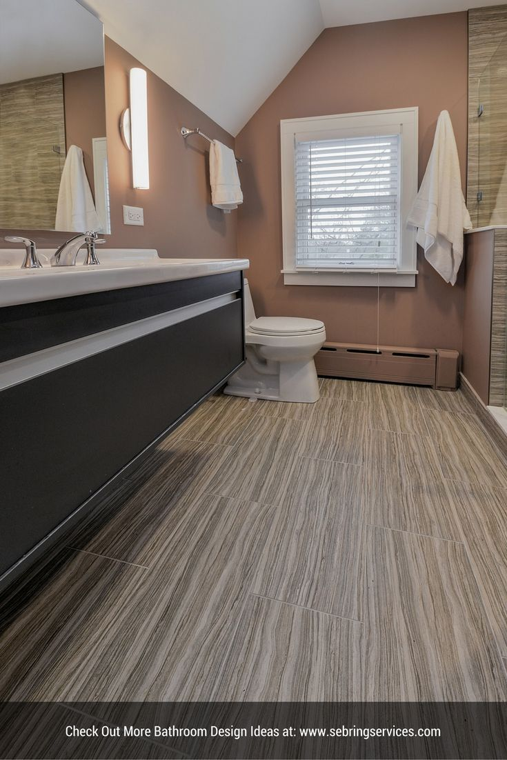 Contemporary Style Bathroom Remodel Project - Hinsdale IL
